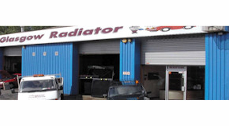 Glasgow Radiator company workshop